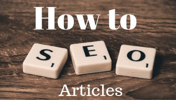 How To SEO Articles