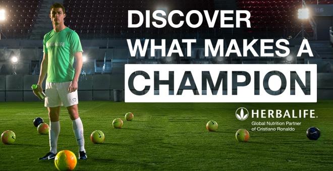 Christiano Ronaldo for Herbalife