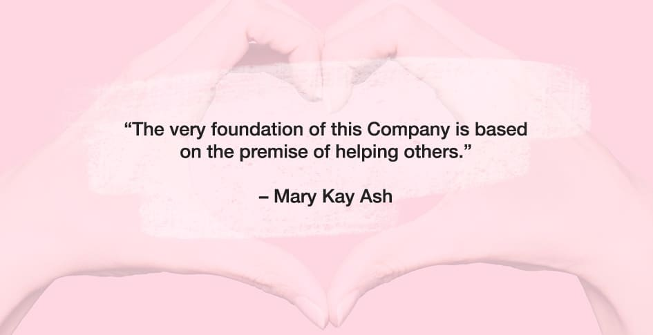 a quote from mary kay ash