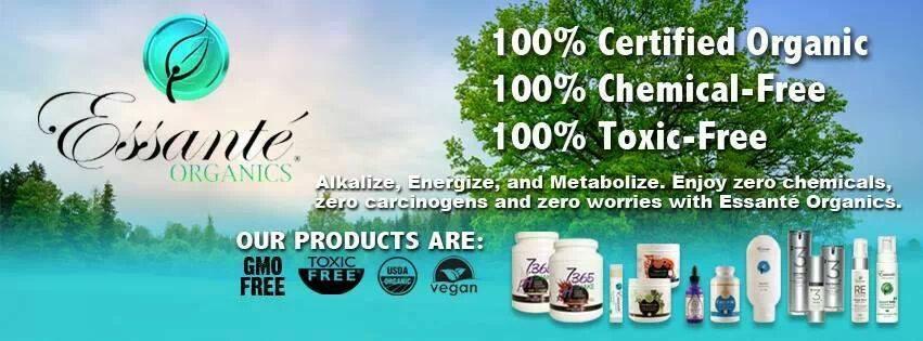 essante organics products