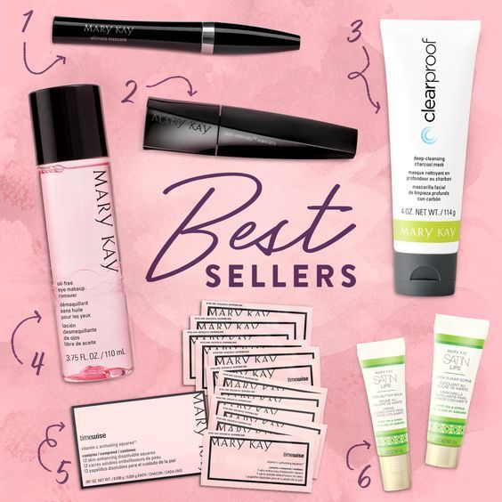 Best Sellers at Mary Kay