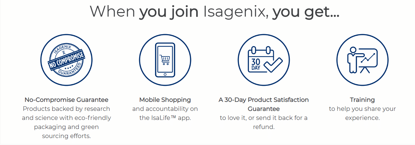 joining isagenix