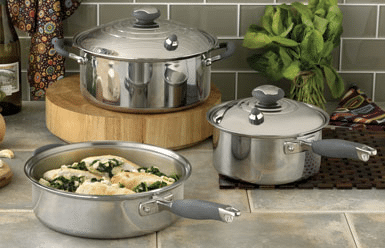 5-ply cookware