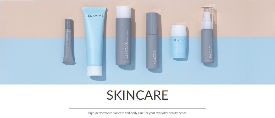Usana skincare products.