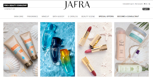Vorwerk Jafra lipstick and makeup.