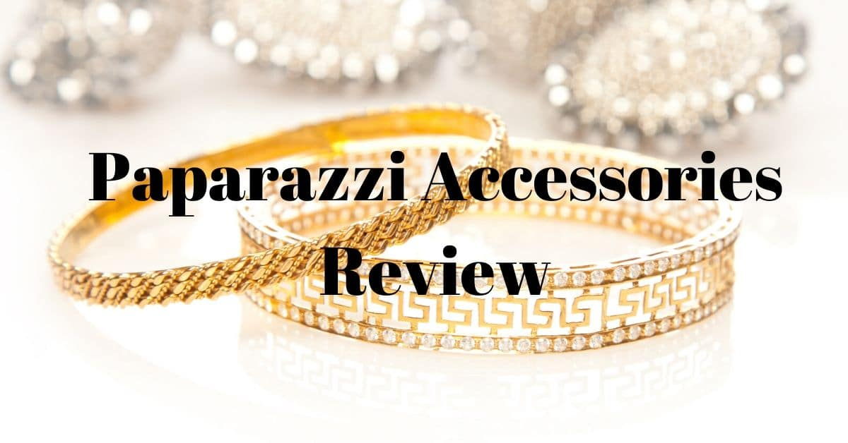 Gold bracelets and the words Paparazzi Accessories review.